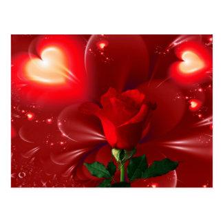 ¡Para usted con amor dulce! Tarjetas Postales