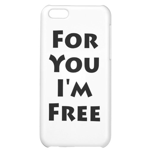Para usted estoy libre
