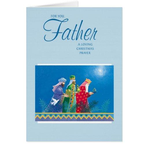 Para usted, padre tarjeta de felicitación