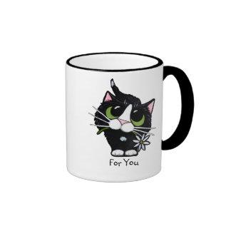 Para usted - taza del gato