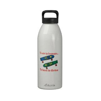 Para ventilar es humana botella de beber