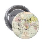 Para viajar es vivir pins