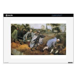 "Parable of the Blind by Pieter Bruegel the Elder 15"" Laptop Decals"