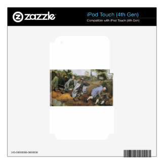 Parable of the Blind by Pieter Bruegel the Elder Decal For iPod Touch 4G