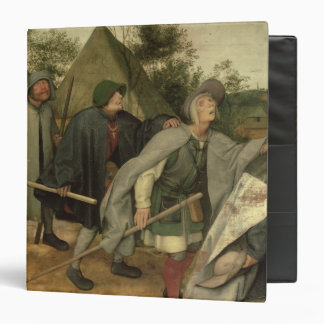 Parable of the Blind, detail of three blind Binder
