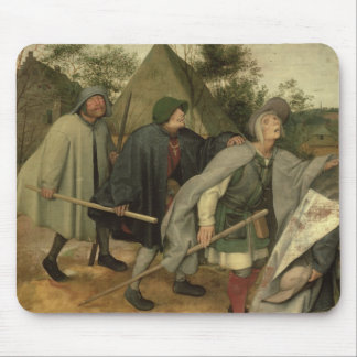 Parable of the Blind, detail of three blind Mouse Pad