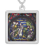 Parable of the Fig Tree, 12th Century Silver Plated Necklace