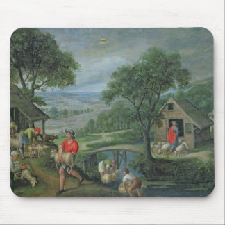 Parable of the Good Shepherd, c.1580-90 Mouse Pad