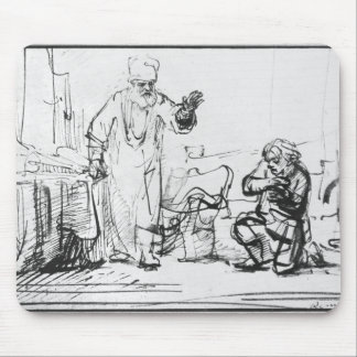 Parable of the ruthless creditor mouse pad