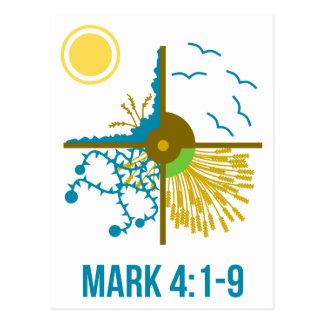 Parable of the Sower/Four Soils - Gospel of Mark Postcard