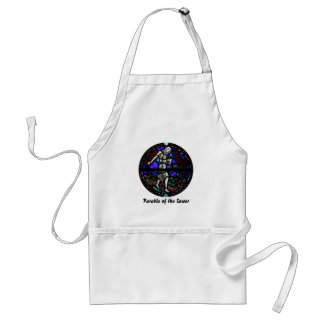 Parable of the Sower Stained Glass Art Apron