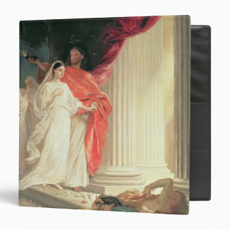Parable of the Wise and Foolish Virgins, 1886 3 Ring Binder