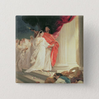 Parable of the Wise and Foolish Virgins, 1886 Button