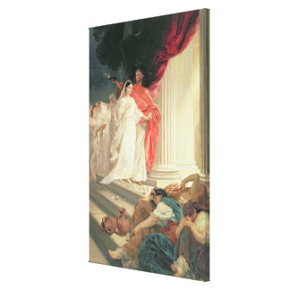 Parable of the Wise and Foolish Virgins, 1886 Canvas Print