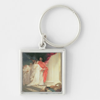 Parable of the Wise and Foolish Virgins, 1886 Keychain