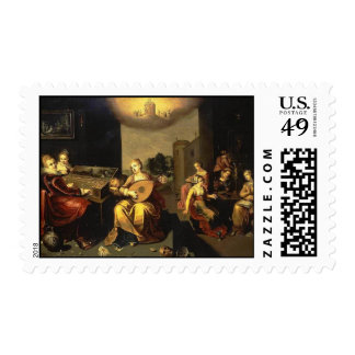 Parable of the wise & foolish virgins - Postage