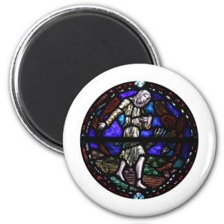 Parábola del arte del vitral del sembrador iman