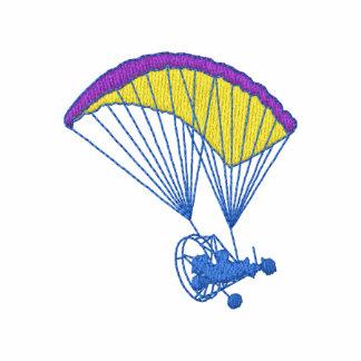 Paracaídas accionado chaqueta bordada de entrenamiento