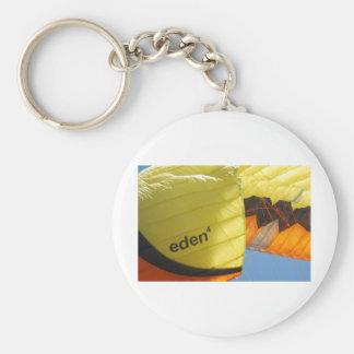 Paracaídas de Eden Llavero Redondo Tipo Pin