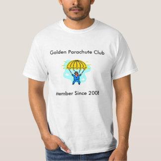 Paracaídas de oro, club del paracaídas de oro, playera