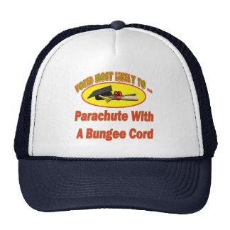 Paracaídas del cordón de amortiguador auxiliar gorro de camionero