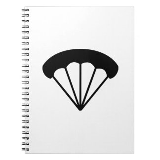 Paracaídas skydiving libro de apuntes
