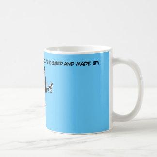 Paracaidismo divertido taza de café