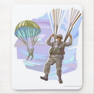 Paracaidista Alfombrilla De Ratón