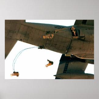 Paracaidistas Impresiones