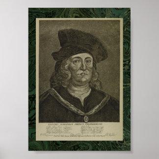 Paracelsus: 17th Century Occultist Portrait Poster