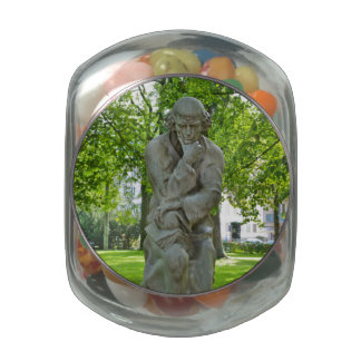 Paracelsus Monument in Salzburg Jelly Belly Candy Jar