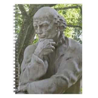 Paracelsus Monument in Salzburg Spiral Notebook