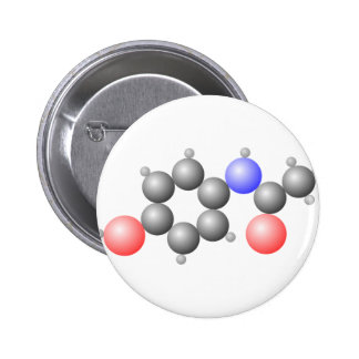Paracetamol Molecule Button