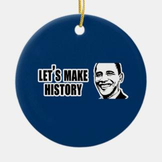 Parachoque 5.png de Obama de la historia Ornaments Para Arbol De Navidad