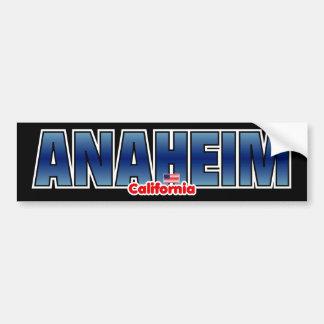 Parachoque de Anaheim Pegatina Para Auto