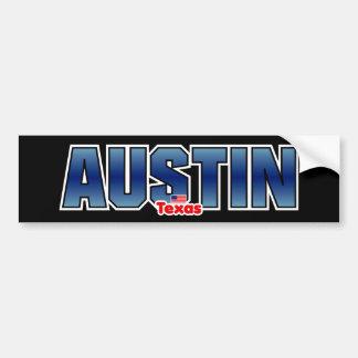 Parachoque de Austin Pegatina Para Auto