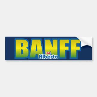 Parachoque de Banff Pegatina De Parachoque