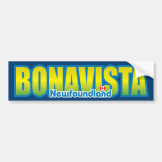 Parachoque de Bonavista Etiqueta De Parachoque