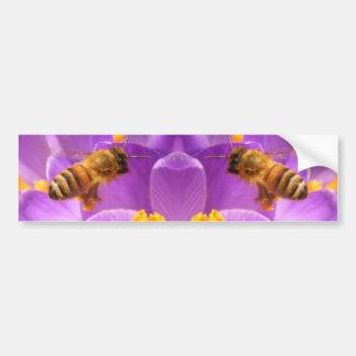 Parachoque de cernido del ~ de la abeja pegatina para auto