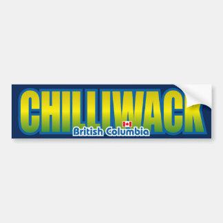 Parachoque de Chilliwack Etiqueta De Parachoque
