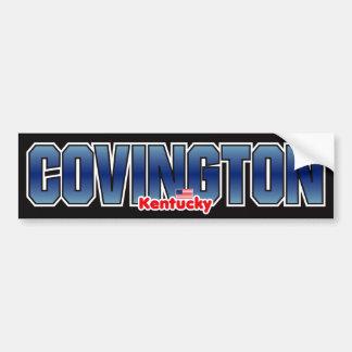 Parachoque de Covington Pegatina Para Auto