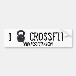 Parachoque de CrossFit del kettlebell I Pegatina Para Auto