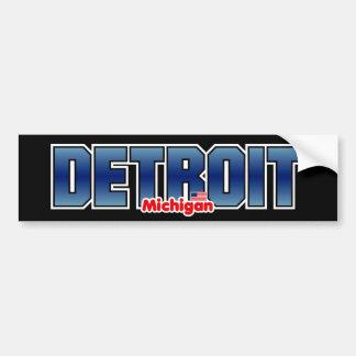 Parachoque de Detroit Pegatina Para Auto