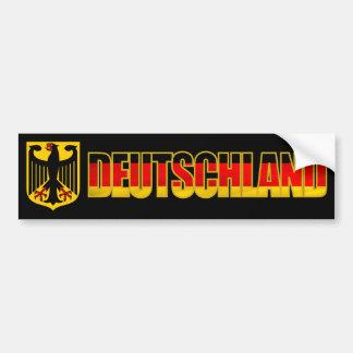Parachoque de Deutschland Pegatina Para Auto