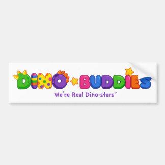 Parachoque de Dino-Buddies™ - logotipo 2 del DB Pegatina Para Auto