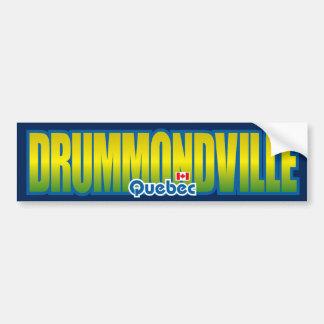 Parachoque de Drummondville Pegatina De Parachoque