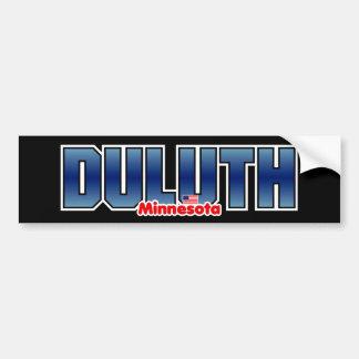 Parachoque de Duluth Pegatina Para Auto