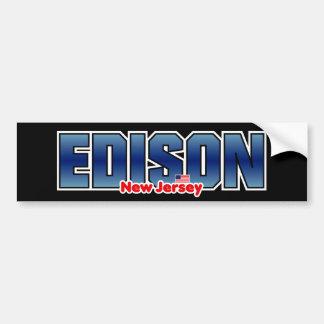 Parachoque de Edison Pegatina Para Auto