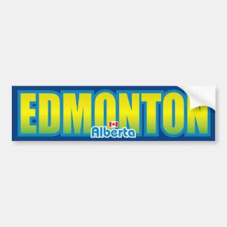 Parachoque de Edmonton Pegatina Para Auto