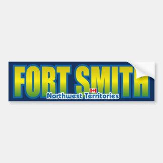 Parachoque de Fort Smith Pegatina De Parachoque